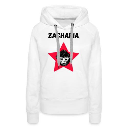 transparaent background Zacharia - Women's Premium Hoodie