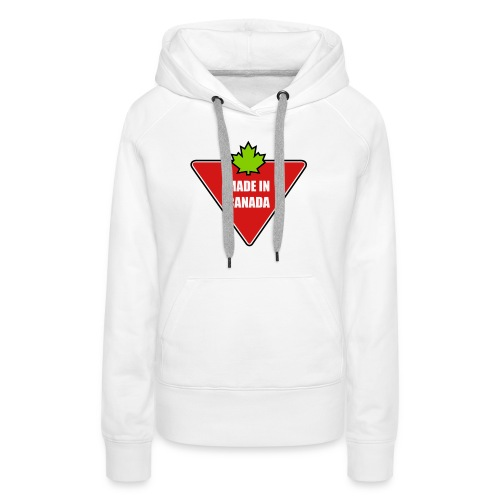 Made in Canada Tire - Women's Premium Hoodie