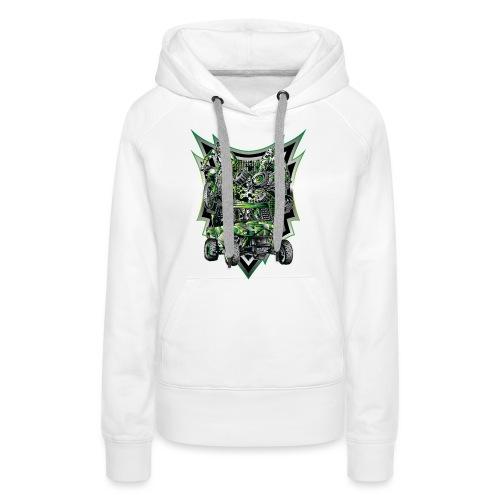 Extreme Life Style Green - Women's Premium Hoodie