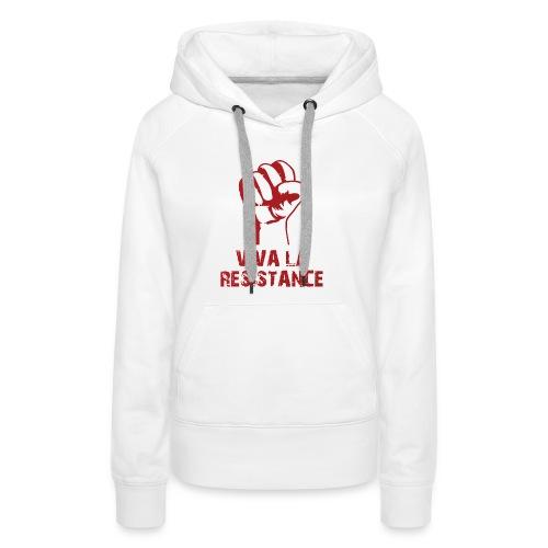 Vive La Resistance Logo - Women's Premium Hoodie