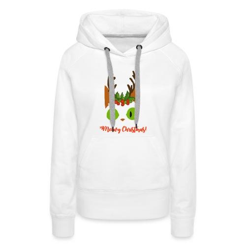 8 Tiny Reindeer - Women's Premium Hoodie