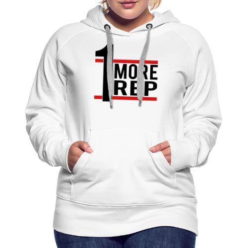 1 More Rep - Women's Premium Hoodie