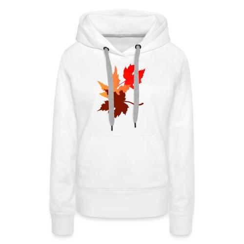 Three Leaves - Women's Premium Hoodie