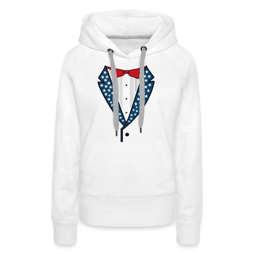 Star Spangled Tuxedo T-Shirt - Women's Premium Hoodie
