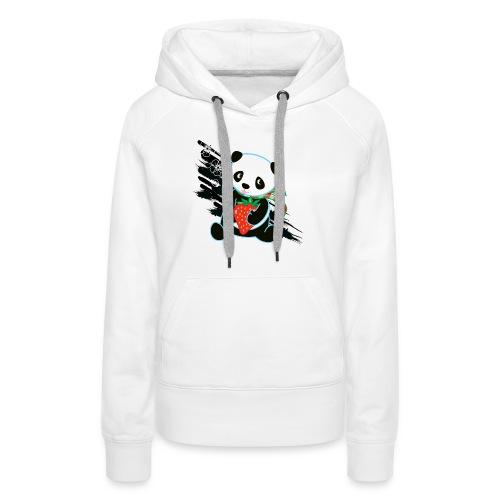 Cute Kawaii Panda T-shirt by Banzai Chicks - Women's Premium Hoodie