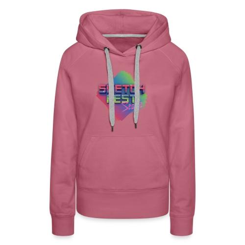 SketchFest2016 Tshirt 2500x2500 png - Women's Premium Hoodie
