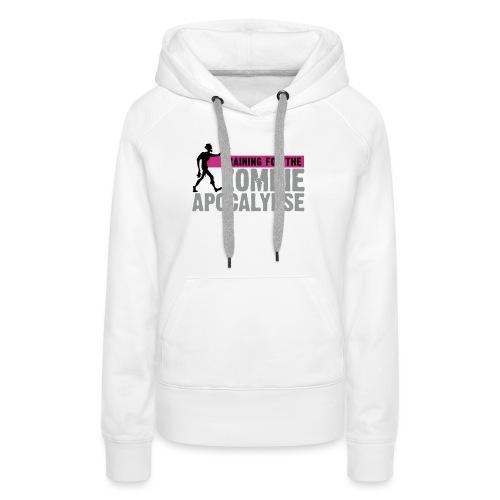 Zombie Apocalypse Gym Motivation - Women's Premium Hoodie