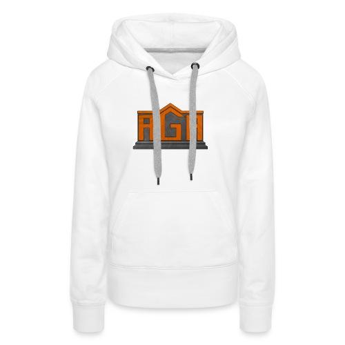 AGA Logo PNG - Women's Premium Hoodie