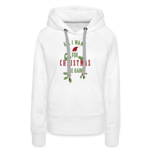 All i want for christmas - Women's Premium Hoodie