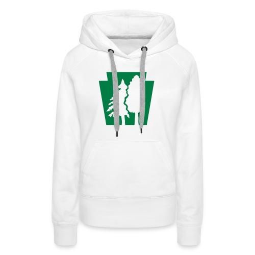 PA Keystone w/trees - Women's Premium Hoodie