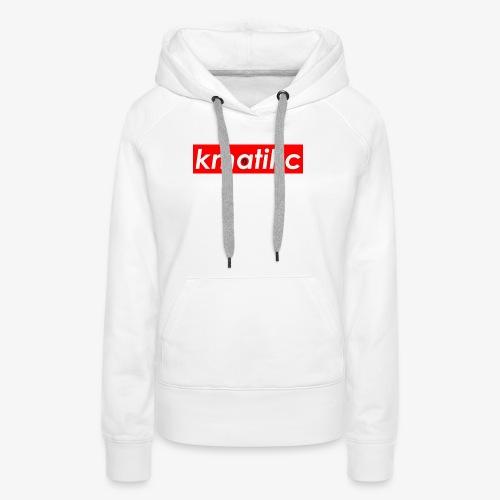 KMATiKC Box Logo - Women's Premium Hoodie