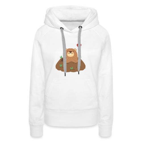 Groundhog Love - Women's Premium Hoodie