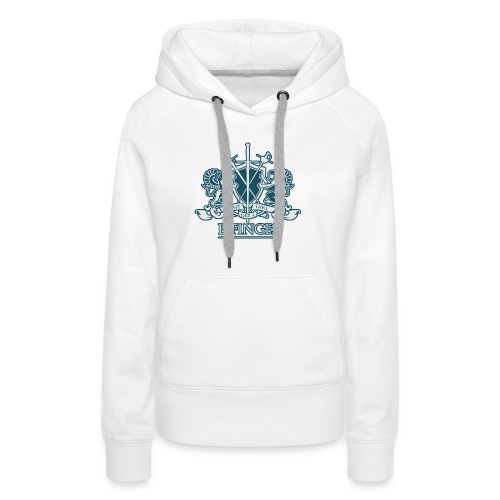 Fight Like a Girl 2 - Women's Premium Hoodie