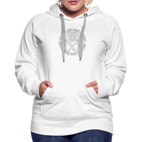 TCF 10th Anniversary (Grey) - Women's Premium Hoodie