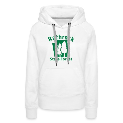 Rothrock State Forest Keystone (w/trees) - Women's Premium Hoodie