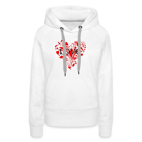 loveheArt - Women's Premium Hoodie