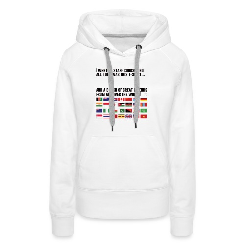 Great Friends (Light Clothing) - Women's Premium Hoodie