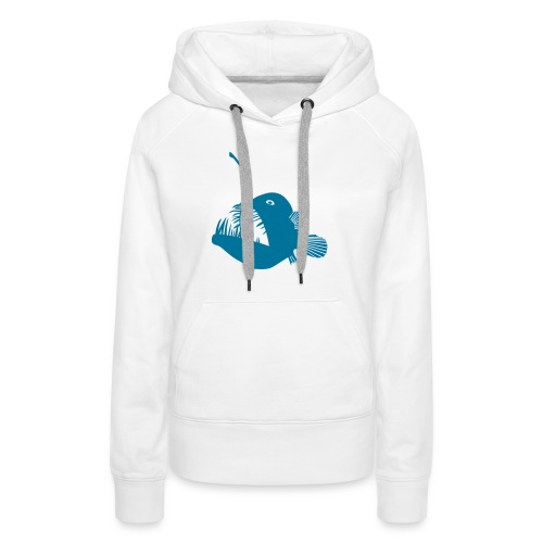 anglerfish frogfish sea devil deep sea angler - Women's Premium Hoodie