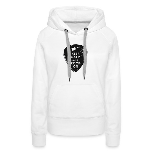 Keep calm and rock on - Women's Premium Hoodie