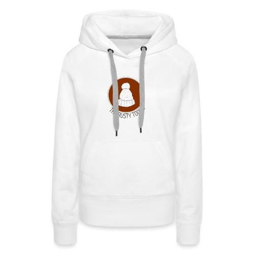 The Rusty Toque Brown Logo 2 - Women's Premium Hoodie
