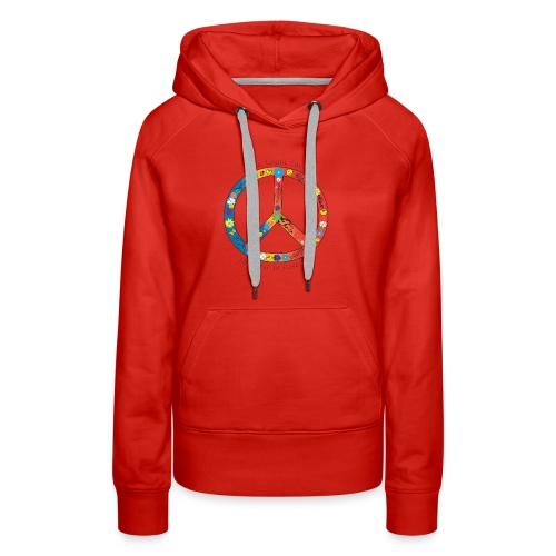 Live, Laugh, Love, the rest is just b.s. - Women's Premium Hoodie