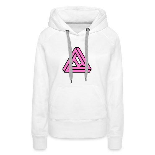 Breast Cancer Awareness Logo - Women's Premium Hoodie