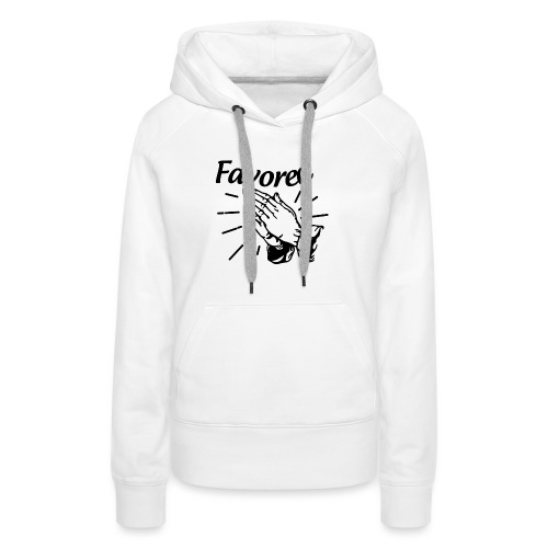 Favored - Alt. Design (Black Letters) - Women's Premium Hoodie