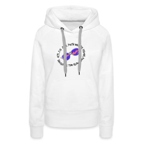 oie_transparent_-1- - Women's Premium Hoodie