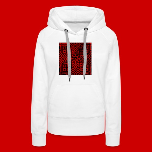 Detailed Chaos Communism Button - Women's Premium Hoodie
