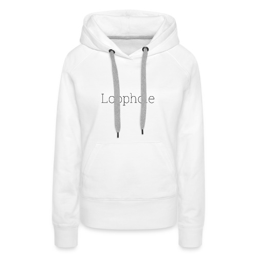 Loophole Abstract Design - Women's Premium Hoodie