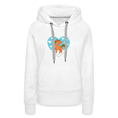 Unicorn Love - Women's Premium Hoodie