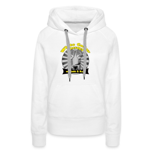 The White Collar Therapy Show - Legacy Logo - Women's Premium Hoodie