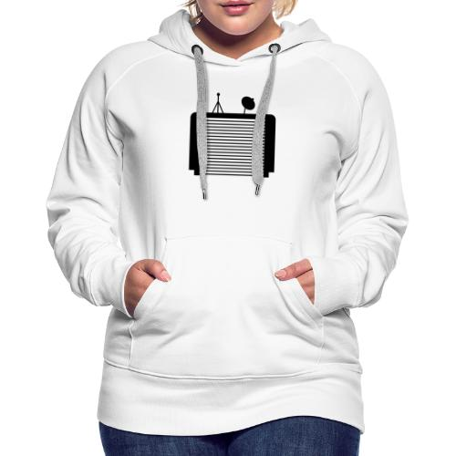 TechGarage Trans Black - Women's Premium Hoodie