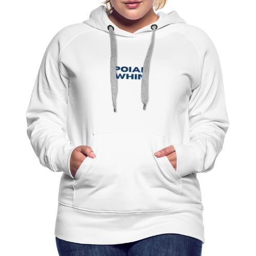 PoIarwhin Updated - Women's Premium Hoodie