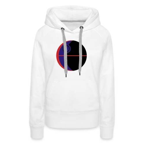 This Is Not A Moon - Women's Premium Hoodie