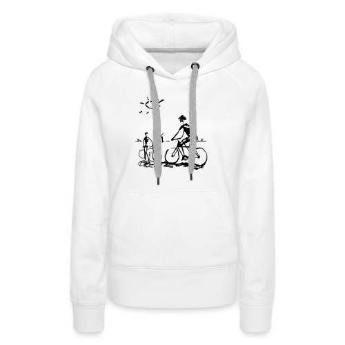 Bicycle Bicycling Picasso - Women's Premium Hoodie