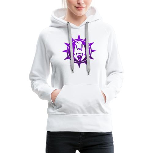 Vector MC Logo 2 colors V2 - Women's Premium Hoodie