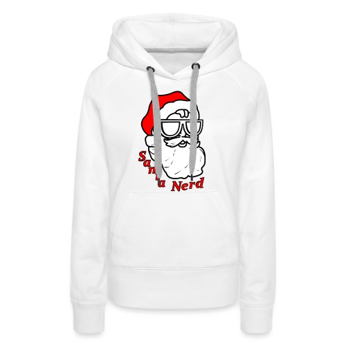 Nerds - Santa Nerd SD - Women's Premium Hoodie
