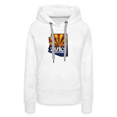 Zuks of Arizona Official Logo - Women's Premium Hoodie