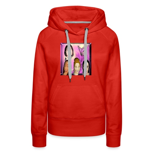 (family_first_revised) - Women's Premium Hoodie