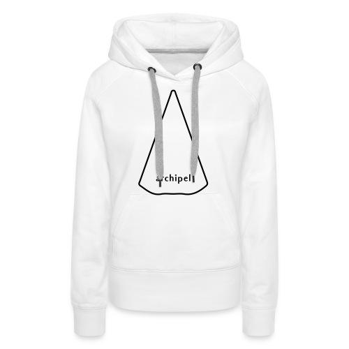 archipel_light grey - Women's Premium Hoodie
