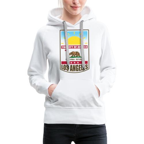Los Angeles - California Republic - Women's Premium Hoodie