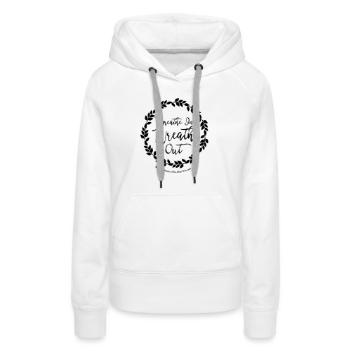 Breathe In Wreath Out - Women's Premium Hoodie