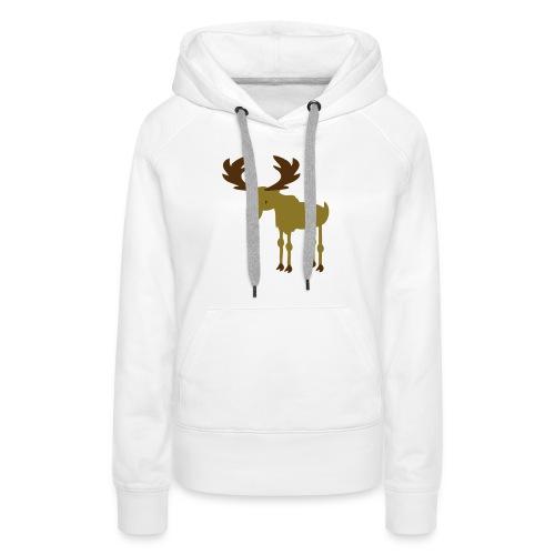 Moose - Women's Premium Hoodie