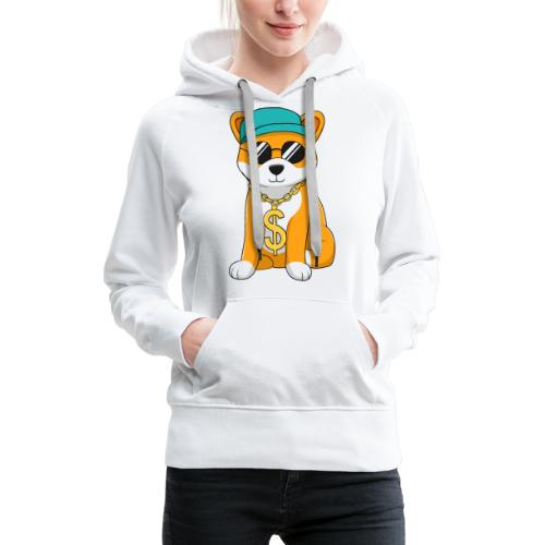 Money Dog - Women's Premium Hoodie