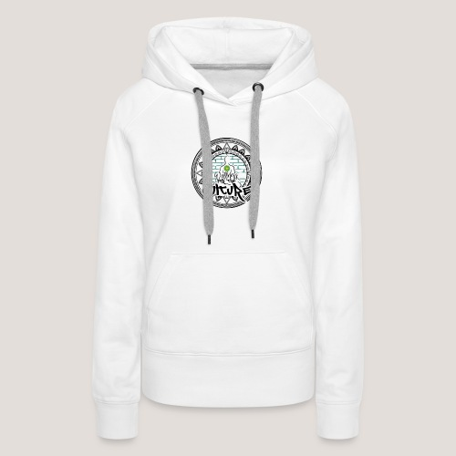 Wellness For the Culture Vintage - Women's Premium Hoodie