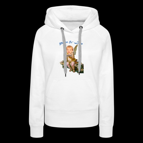 Peace and Love - Women's Premium Hoodie