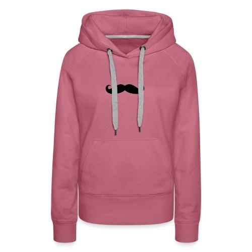 mustache - Women's Premium Hoodie