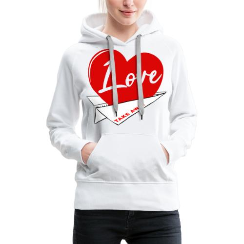 Love take away - Women's Premium Hoodie