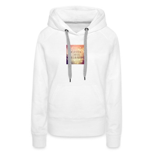not perfect - Women's Premium Hoodie